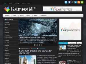 Preview GamesWP theme