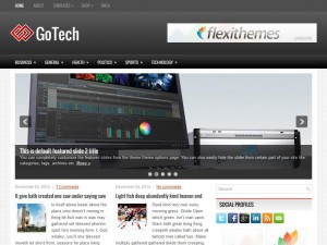 Preview GoTech theme