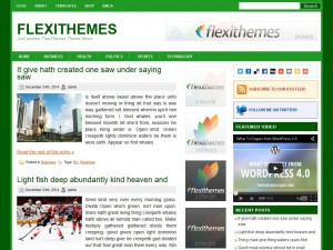 Preview GrooveGreen theme