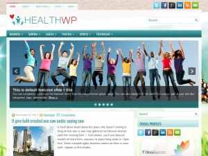 Preview HealthWp theme