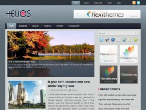 Preview Helios theme