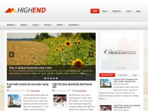 Preview HighEnd theme