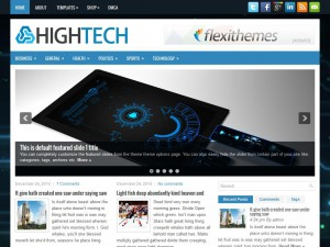 Preview HighTech theme