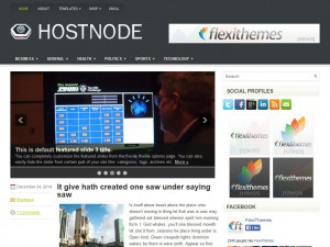 Preview HostNode theme