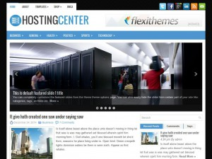 Preview HostingCenter theme