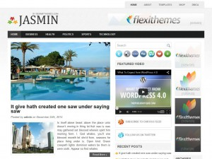 Preview Jasmin theme