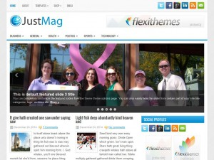 Preview JustMag theme