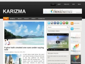Preview Karizma theme