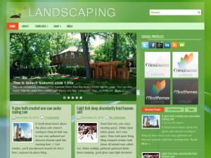Preview Landscaping theme