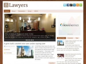 Preview Lawyers theme