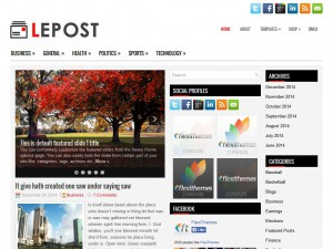 Preview Lepost theme
