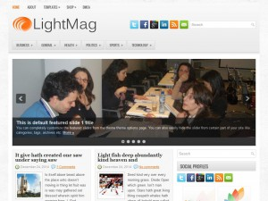 Preview LightMag theme