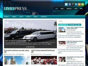Preview LimoPress theme