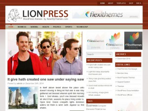 Preview LionPress theme
