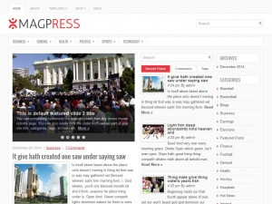 Preview MagPress theme