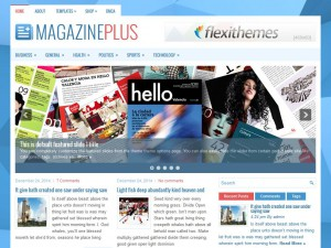 Preview MagazinePlus theme