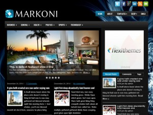 Preview Markoni theme