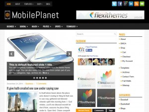 Preview MobilePlanet theme