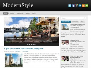 Preview ModernStyle theme