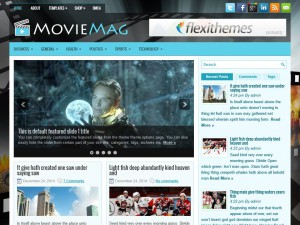 Preview MovieMag theme