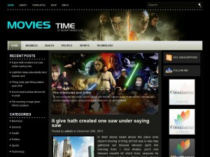 Preview MoviesTime theme
