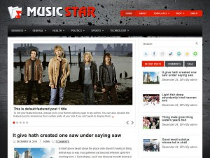 Preview MusicStar theme