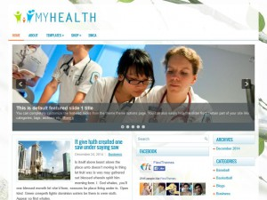 Preview MyHealth theme