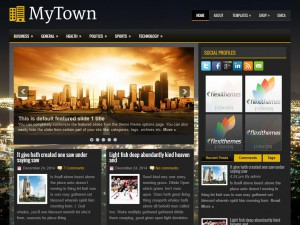 Preview MyTown theme
