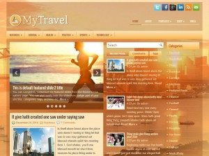 Preview MyTravel theme