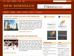 Preview NewBordeaux theme