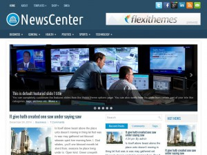 Preview NewsCenter theme
