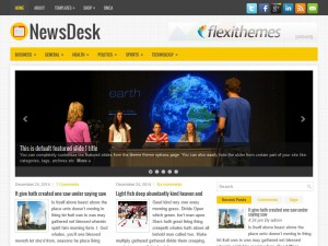 Preview NewsDesk theme