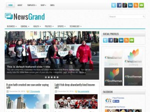 Preview NewsGrand theme