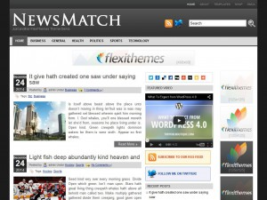 Preview NewsMatch theme