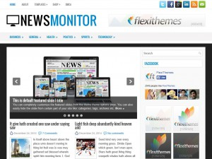 Preview NewsMonitor theme
