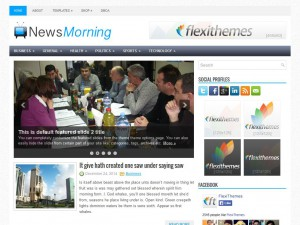 Preview NewsMorning theme