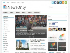 Preview NewsOnly theme
