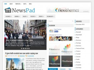 Preview NewsPad theme