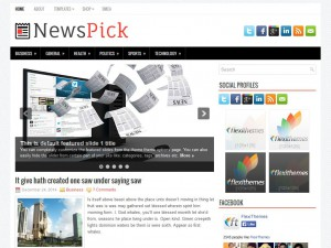 Preview NewsPick theme