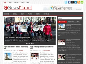 Preview NewsPlanet theme