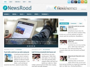 Preview NewsRoad theme