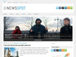 Preview NewsSpot theme