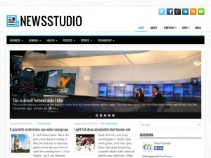 Preview NewsStudio theme