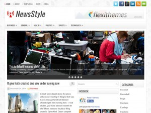 Preview NewsStyle theme