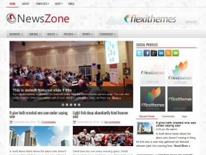 Preview NewsZone theme