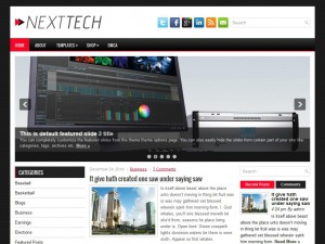 Preview NextTech theme