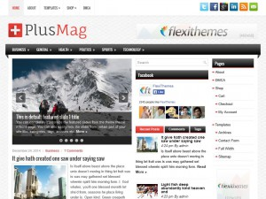 Preview PlusMag theme