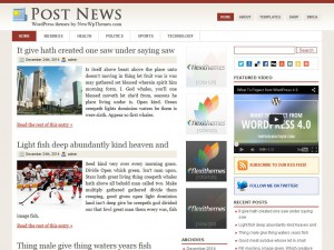 Preview PostNews theme