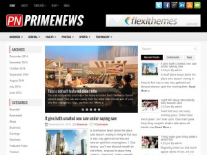 Preview PrimeNews theme