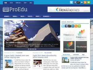 Preview ProEdu theme